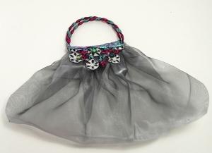 Friendly Plastic and chiffon bag